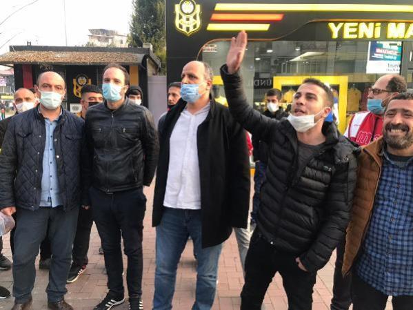 SPOR Malatyaspor taraftarlarından Başkan Adil Gevrek'e istifa çağırısı