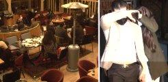 Nişantaşı'nda gece vakti açık olan restorandan çıkan ünlü isim şaşırttı