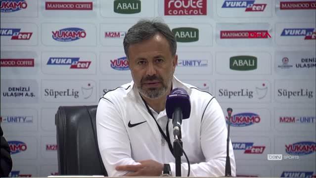 SPOR Yukatel Denizlispor - Yeni Malatyaspor maçının ardından