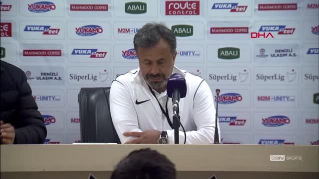 Yukatel Denizlispor - Yeni Malatyaspor maçının ardından